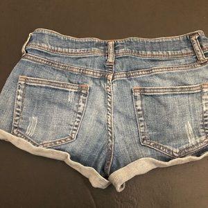 Forever 21 heritage 1981 line denim shorts